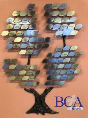 BCA Donor Tree Leaf