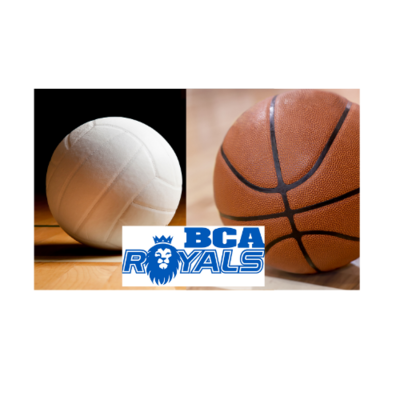 BCA Royal Volleyball Sports Campers with a basketball option