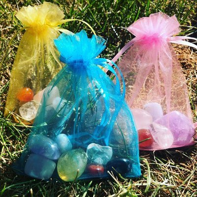 Travel Crystal Chakra Bags