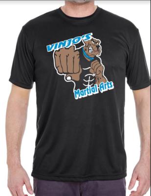 Vinjos Martial Arts Black T-Shirt