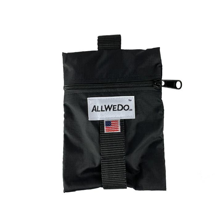 The KISx Ride Bag™ // Black // 20g