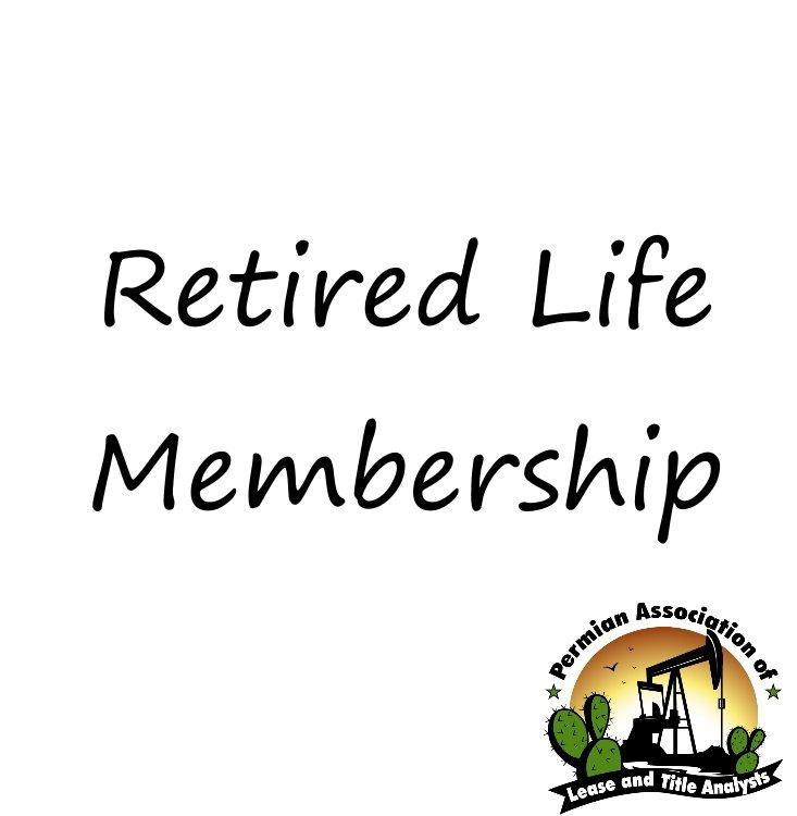 Retired Life Membership