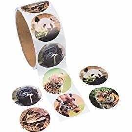 Affinity Animal Stickers Activity