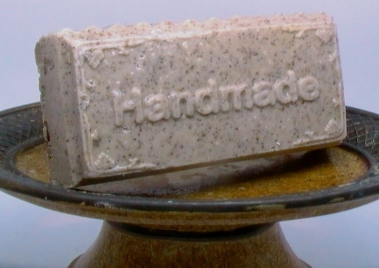 Oatmeal  Honey-Chunk Soap Bar (4 oz.)