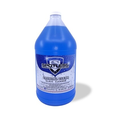 Crystal Clear Glass Cleaner  (128oz)