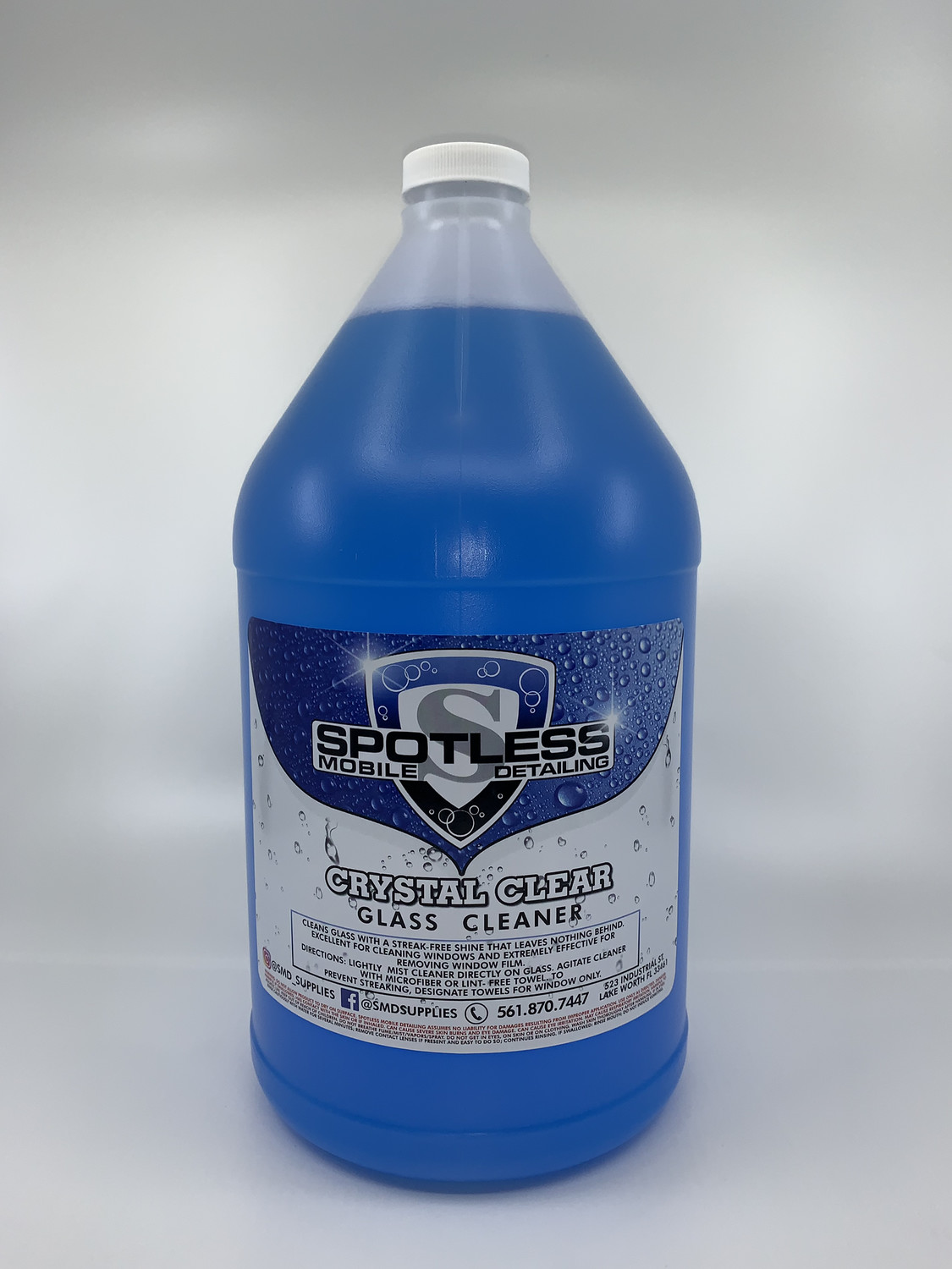 Crystal Clear Glass Cleaner (1 gal)
