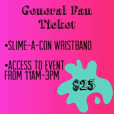 General Fan Ticket