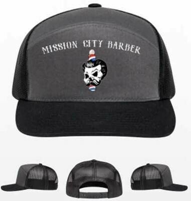 New -- Mission City Barber - Arched Hat