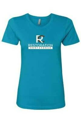 Restoration Conference Womans T-Shirt