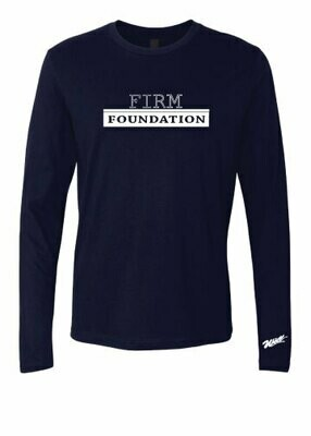 The Well - Unisex - Firm Foundation - Long Sleeve