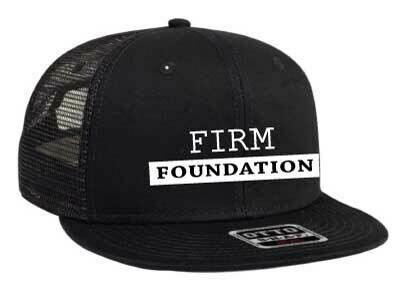 The Well - Unisex - Firm Foundation - Meshback Trucker Hat