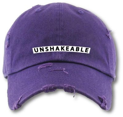 The Well - Unisex - Unshakeable - Distressed Dad Hat