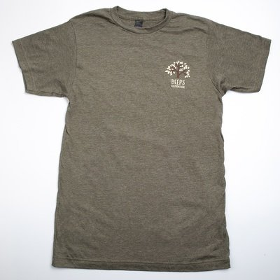 Short Sleeve Military Green