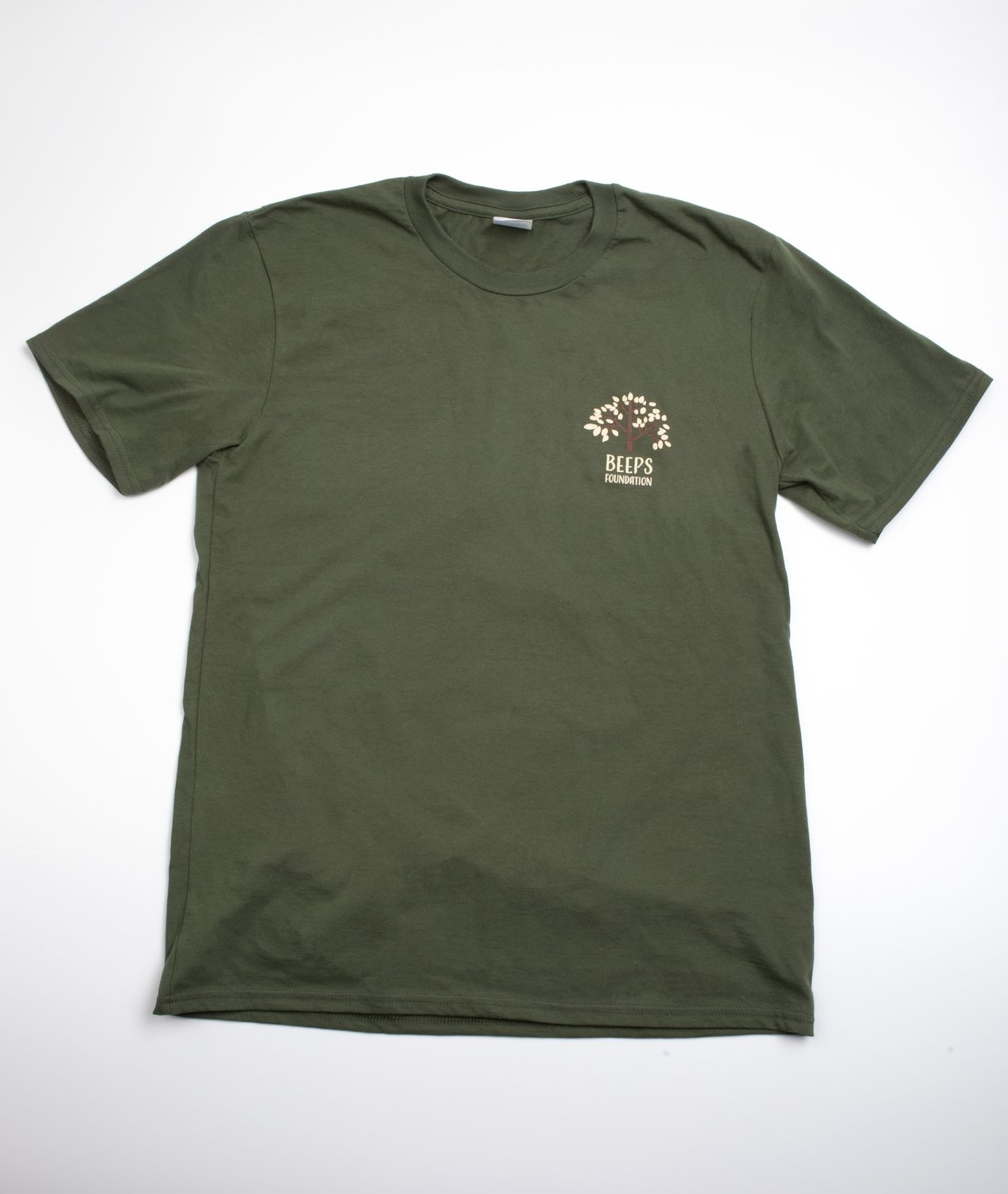 Short Sleeve Children's Olive