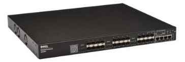 FN848   Dell PowerConnect 6224F 24-port Network Fiber Switch   0FN848