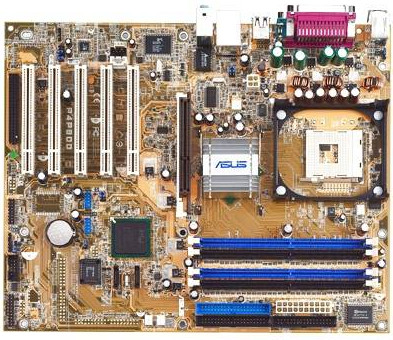 Asus P4P800 System Board | C0307000643