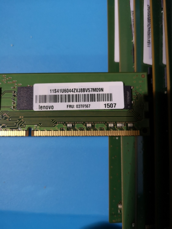 03T6567 | Lenovo 8GB 12800 Desktop RAM | 41U6044
