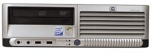 HP Compaq dc7700P Core 2 Duo 1.86GHz PC   RT888UT