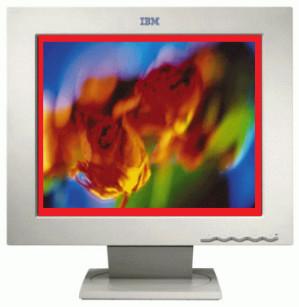 IBM T84H 18 Inch Monitor   6658-HG2