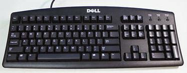 04N454   Dell USB KeyBoard Black