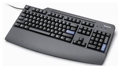 54Y9400   Lenovo USB KeyBoard Black