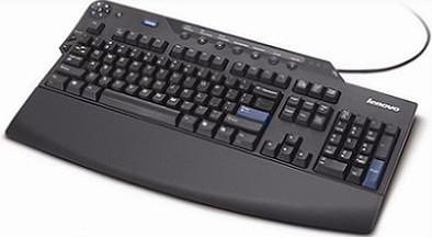 Lenovo USB Keyboard Black   03X8490