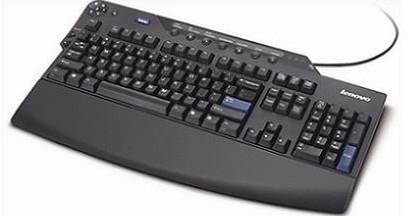 Lenovo USB Keyboard Black   89P8800