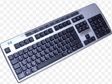 HP PS2 Keyboard   265987