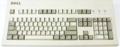 Dell AT101W PS2 Computer Keyboard