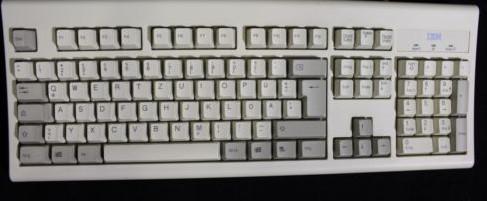 IBM KB-8926 PS2 Keyboard   07H0711