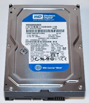 03T7041 | WD500AAKX | IBM 500GB SATA Hard Drive