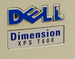 Dell Dimension XPS T600R Pentium III 600MHz PC