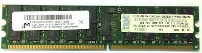 41Y2851 | 43X5028 | IBM 4GB PC2-5300 Server Memory