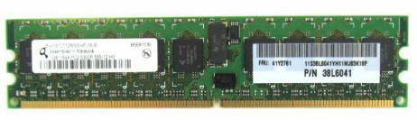 38L6041 | 41Y2761 | IBM 1GB PC2-5300 Server Memory