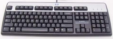 HP PS/2 Wired Keyboard   434820-002