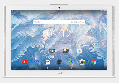 Acer IConia 10 Tablet 32GB Marble White