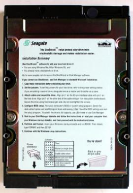 24P3697 | SeaGate 40GB Hard Disk Drive