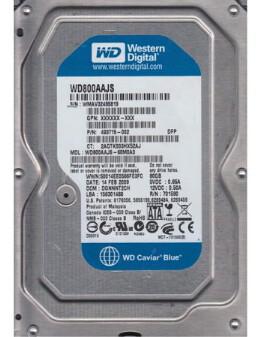 493715-002 | HP 80GB SATA Hard Drive