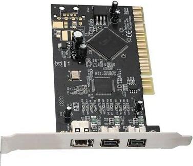 ADS 3 Port PCI FireWire Controller Card   ADS API-311 Rev-D