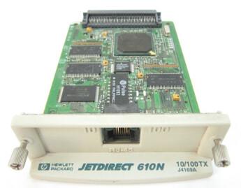 J4169-60023 | J4169A | HP JetDirect 610N Print Server Network Card