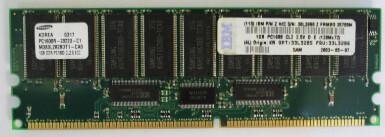 33L3285 | IBM 1GB PC1600 Ram | 33L3286