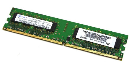 41X4256 | Lenovo 1GB PC2-5300U Ram