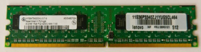36P3340   Lenovo 512MB PC-4200 Ram   30R5121