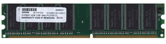 KTC-D320/1G | Kingston1GB PC 2700 Ram