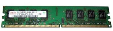 HYMP125U64CP8-S6 | Hynix 2GB PC2-6400U Ram