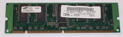 33L3067 | 33L3068 | IBM 64MB PC100 Memory Module