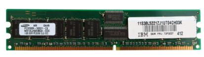 73P3237 | 73P3234 | IBM 1GB PC2-3200 Ram