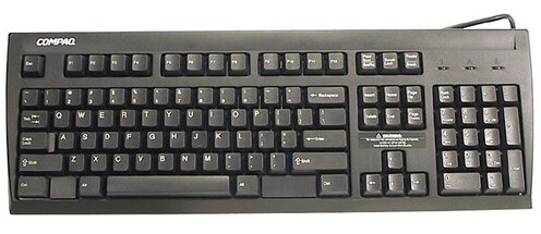 296433-005 | HP Enhanced PS2 KeyBoard | 311059-001