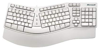 Microsoft PS/2 Ergonomic Keyboard | X03-30785