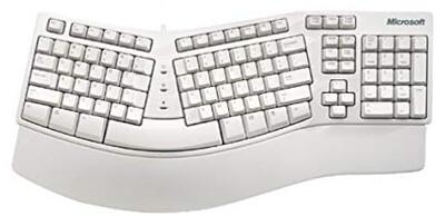 Microsoft PS/2 Ergonomic Keyboard | X03-30785